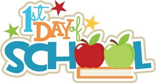 First Day of School - Tuesday, Sept. 8th