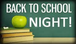 BACK TO SCHOOL NIGHT (VIRTUAL EDITION) is Tuesday, September 15