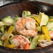 Shrimp Zucchini Dish