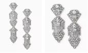Casablanca Chandeliers- 3 in 1 earrings!