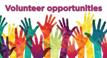 Volunteer Opportunities!!!