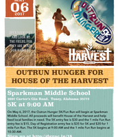Outrun Hunger for House of the Harvest May 6