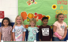 1st Grade Citizens of the Month