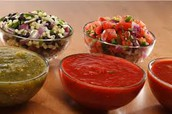 Salsa Taste Test Competition - Today at Lunch