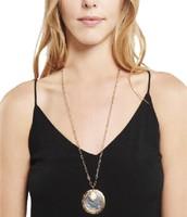 Amala Pendant Necklace - Silver/Gold
