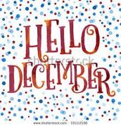 Hello December...