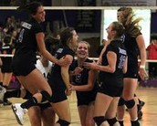 Volleyball Bows Out, But Leaves it All on the Floor