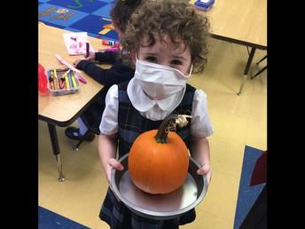"""Making """"pumpkin pie"""""""