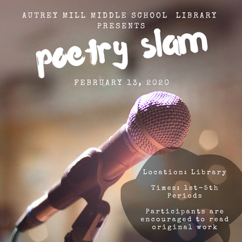 Poetry Slam - February 13th