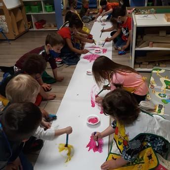 Cooperative paint activity