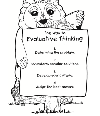 What is Evaluative Thinking?