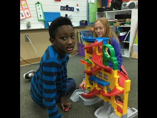 Students had a great time learning through play!