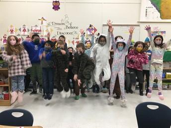 Pajama Day fun in 4P!