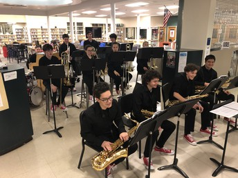 Jazz Band at Curriculum Night