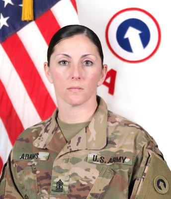 1SG Catherine Adams