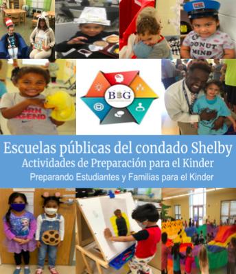 Folleto de preparación para el jardín de infantes (español)