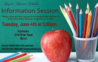Inspire Info Session NORCO