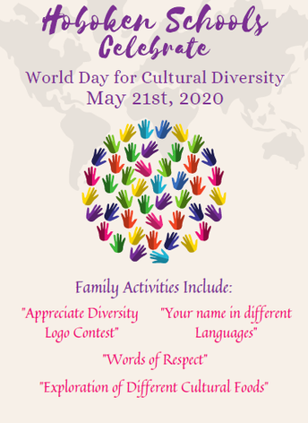 May 21st is Diversity Day in the Hoboken Public School District