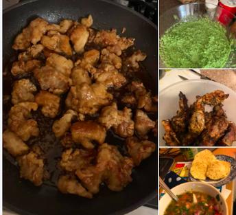 International week inspired dinner this week!