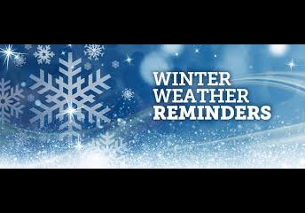 Winter Reminders: