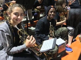 Woodside High School Band Night
