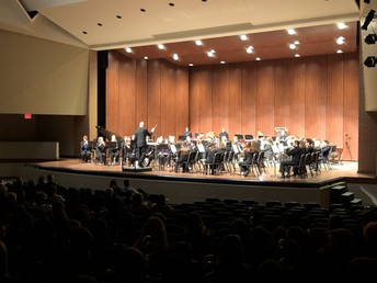 Wind Ensemble directed by Mr. Doggett