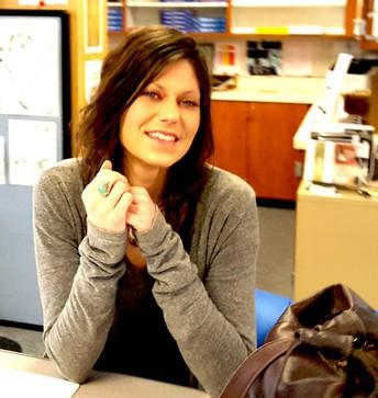 Nurse Dana Rodriguez smiling