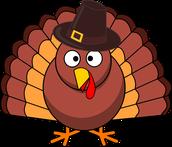 Thanksgiving Break!  11/18-11/26