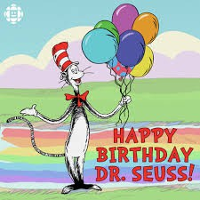 Dr. Seuss's Birthday Celebration - March 2nd