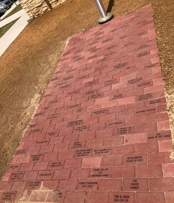 First Brick Installation