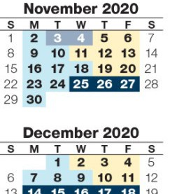 OPS Calendar Link