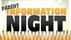 Parent Information Nights