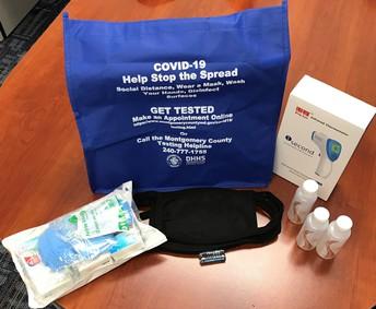 El Gobierno del Condado de Montgomery distribuirá miles de kits COVID en vecindarios afectados desproporcionadamente