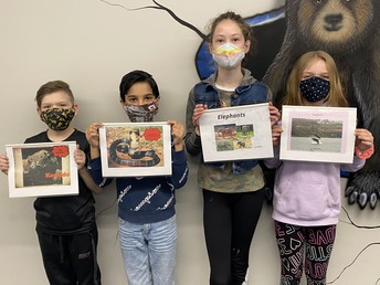 4th Grade Book Projects!