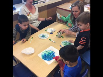 Students Make Earth Day Projects!