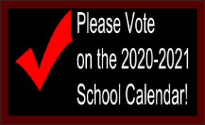 The last day to vote on your preferred academic calendar is noon on Wednesday, January 8