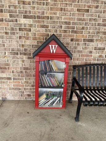Summer Reading Little Library Book Exchange