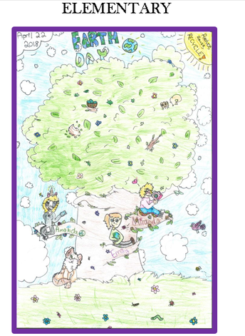 2019 Earth Day Poster Contest for the MDEQ, MDNR, and MDARD