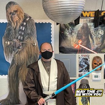 EMCSD Community Celebrates Star Wars Day!