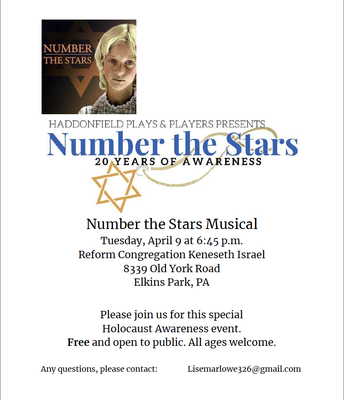 Number the Stars Musical