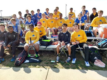 Boys Tennis Starts Season With Win Over FHN