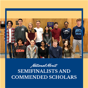 National Merit Semifinalists and Commended Scholars Celebrated