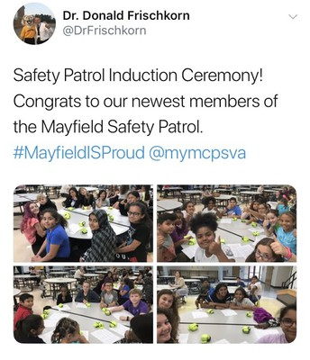 Safety Patrol Induction