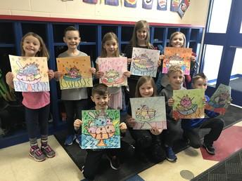 Art Corner- Miss Gleason