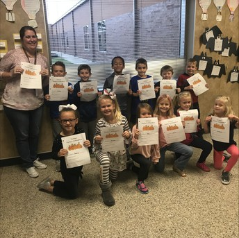 October Perfect Attendance