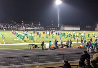 Wildcat Marching Band with Fort Frye Band