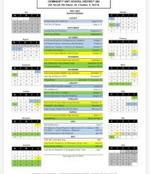 District Calendar 2021-2022