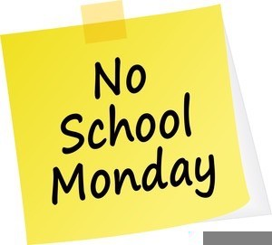 No School on Monday, January 20, 2020 in Observance of Martin Luther King Jr. Day.