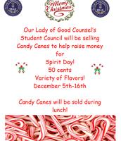 OLGC Candy Cane Sale