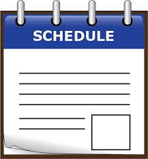 2018-2019 Student Schedules